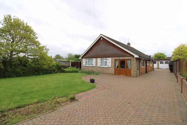 Thumbnail Detached bungalow for sale in Green End Road, Great Barford, Bedford