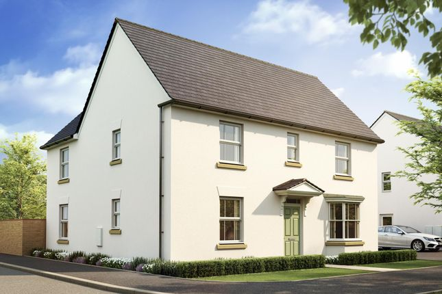 "Thumbnail Detached house for sale in ""Layton"" at West Yelland, Barnstaple"