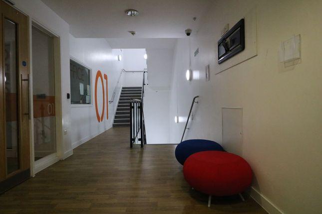 Hallway Leading To Floors