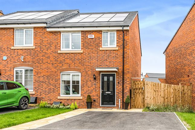 Thumbnail Semi-detached house for sale in English Gardens, Catesby View, Kingswinford