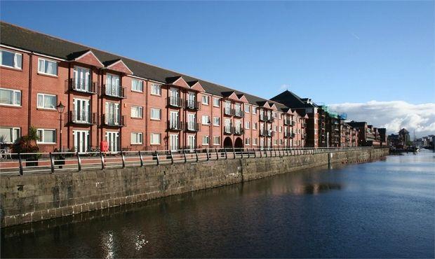 Thumbnail Flat for sale in Victoria Quay, Maritime Quarter, Swansea