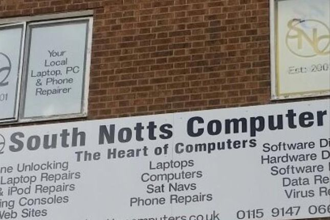 Thumbnail Commercial property for sale in Computer Repairs And Sales, Iphone And Apple Repair Centre NG11, Nottingham