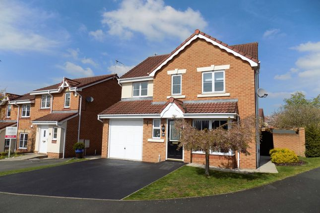 Thumbnail Detached house for sale in Gordale Close, Winnington, Northwich