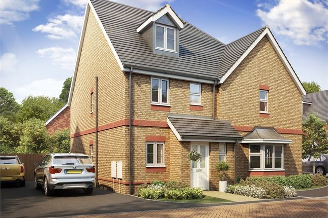 Thumbnail Semi-detached house for sale in Brick Field, Fenny Stratford, Milton Keynes