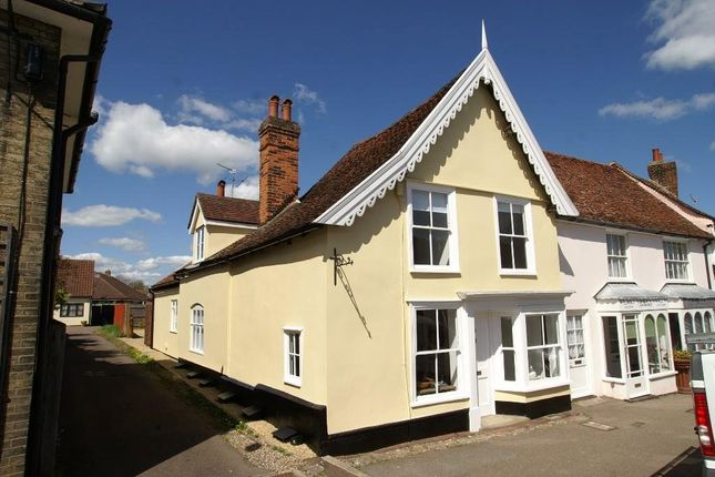 Thumbnail End terrace house for sale in High Street, Lavenham, Sudbury
