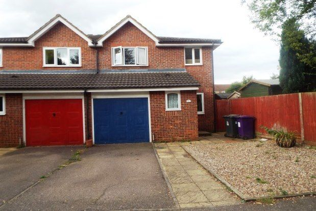 Thumbnail Semi-detached house to rent in Talisman Street, Hitchin
