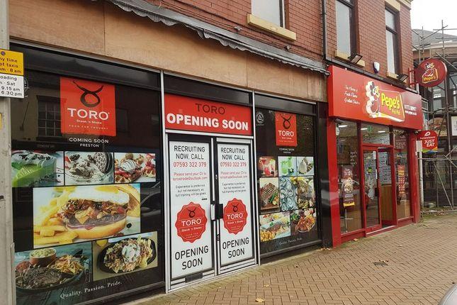 Thumbnail Restaurant/cafe to let in Church Street, Preston