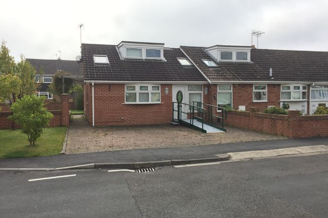 Thumbnail Semi-detached bungalow to rent in Manor Road, Hurworth