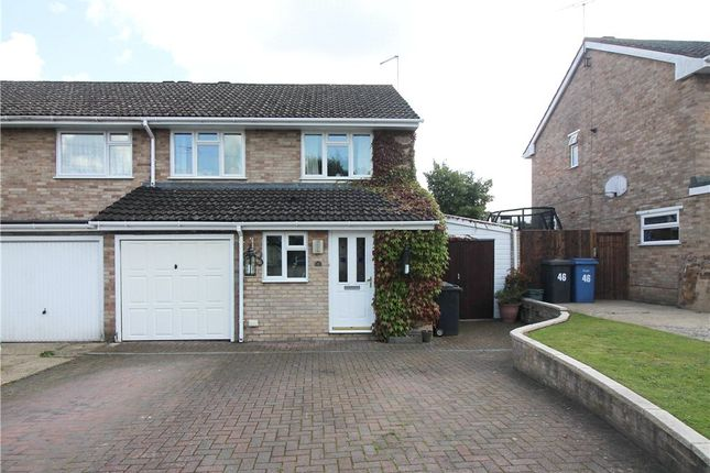 3 Bed Semi Detached House For Sale In Whitley Road Yateley Hampshire
