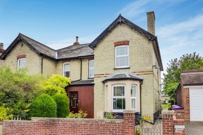 Thumbnail Semi-detached house for sale in Morton Street, Royston