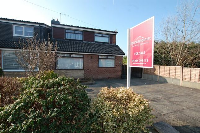 Thumbnail Semi-detached bungalow for sale in Catterick Drive, Little Lever, Bolton