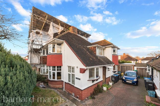 Thumbnail Semi-detached house for sale in The Ridgeway, Waddon, Croydon