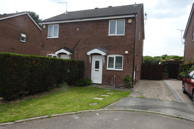 2 bed semi-detached house for sale in Oak Tree Close, Hucknall, Nottingham