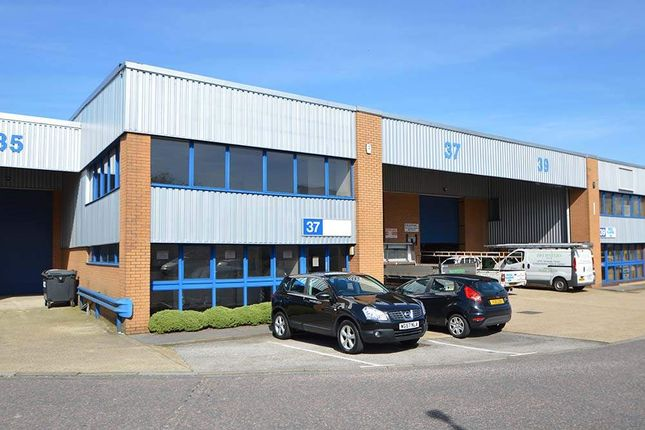 Thumbnail Warehouse to let in Unit 37 Wessex Trade Centre, Poole