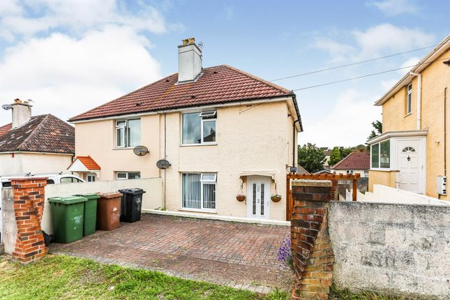 Semi-detached house for sale in Channel Park Avenue, Plymouth