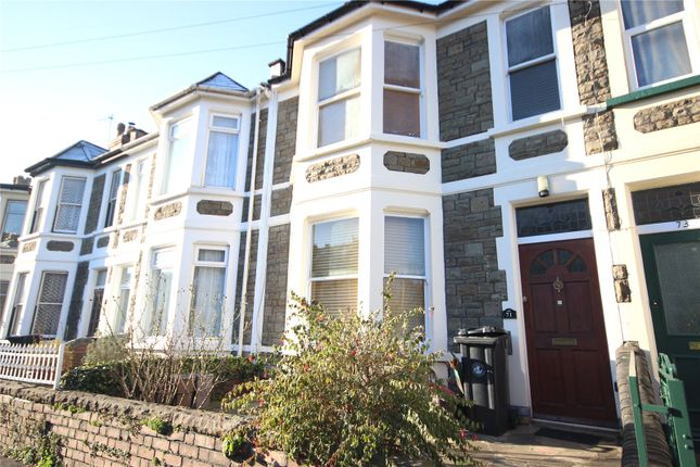Thumbnail Terraced house to rent in Monk Road, Bishopston, Bristol