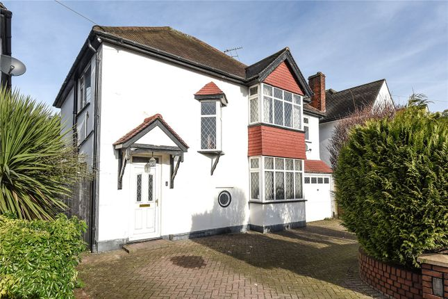 Thumbnail Detached house for sale in Elm Avenue, Ruislip, Middlesex