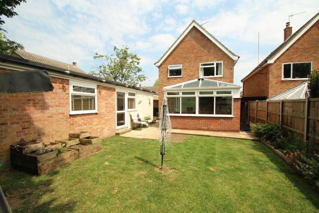 Thumbnail Detached house for sale in Lockington Crescent, Stowmarket