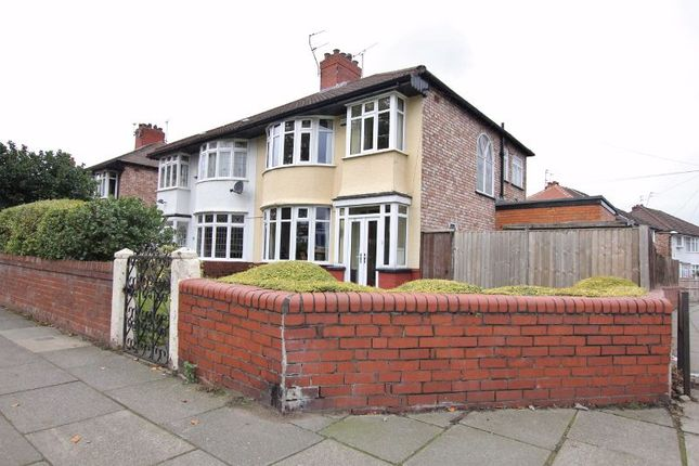 Thumbnail Semi-detached house for sale in Honeys Green Lane, West Derby, Liverpool