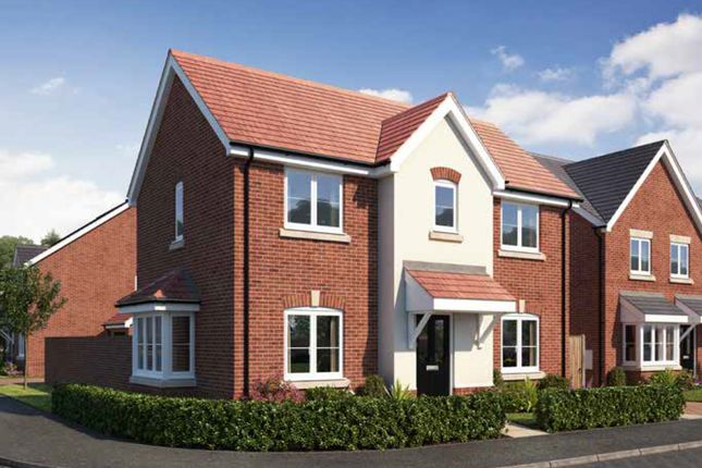 Thumbnail Detached house for sale in Gateway Avenue, Newcastle Under Lyme, Staffordshire