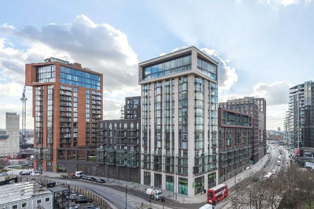 Thumbnail Flat for sale in Legacy Building 1, Embassy Gardens, Nine Elms, London