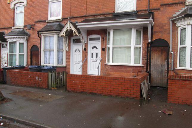 Thumbnail Terraced house to rent in Osborn Road, Sparkbrook, Birmingham