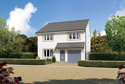 "Thumbnail Detached house for sale in ""Denewood"" at East Calder, Livingston"