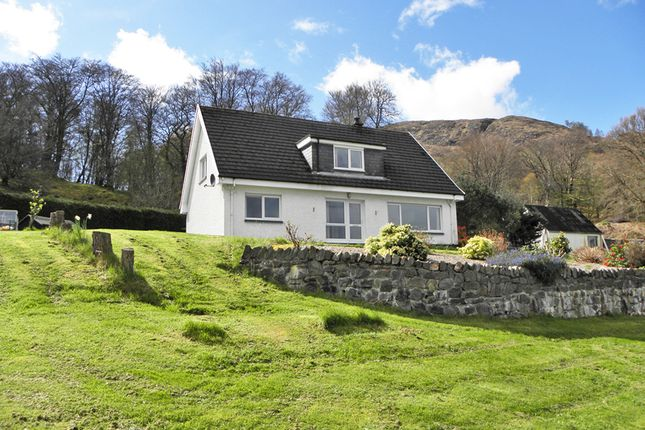 Thumbnail Detached house for sale in Camusnagaul, By Fort William