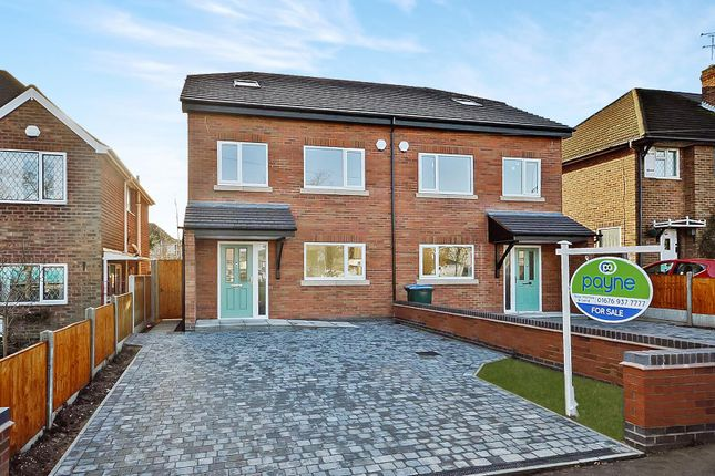 Thumbnail Semi-detached house for sale in Kenpas Highway, Finham, Coventry