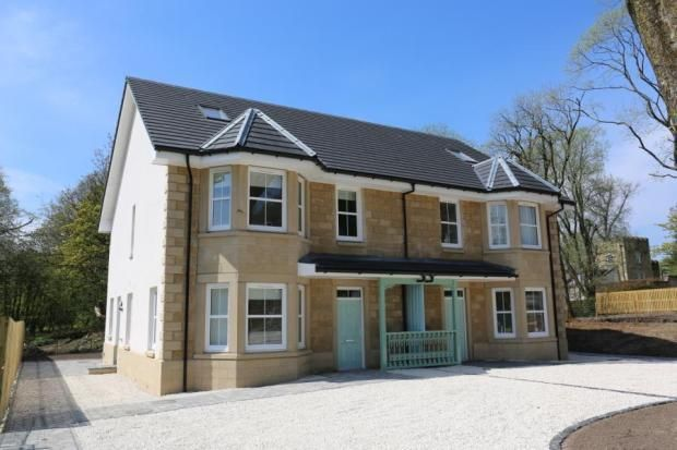 Thumbnail Semi-detached house for sale in Fishers Grove, Montgomerie Drive, Stewarton