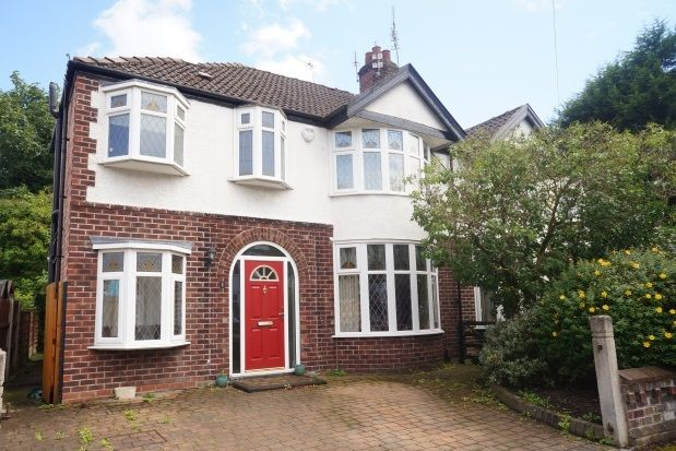 Property to rent in Thurleigh Road, Didsbury, Manchester
