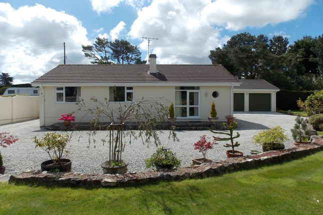 Thumbnail Detached bungalow for sale in Crofthandy, St. Day, Redruth