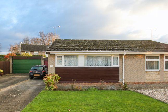 Thumbnail Semi-detached bungalow to rent in Queen Emmas Dyke, Witney