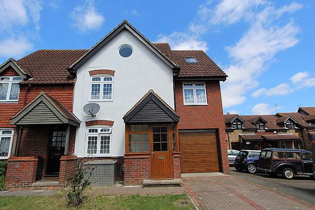 Thumbnail Semi-detached house for sale in Marsworth Close, Yeading UB4 9Sz