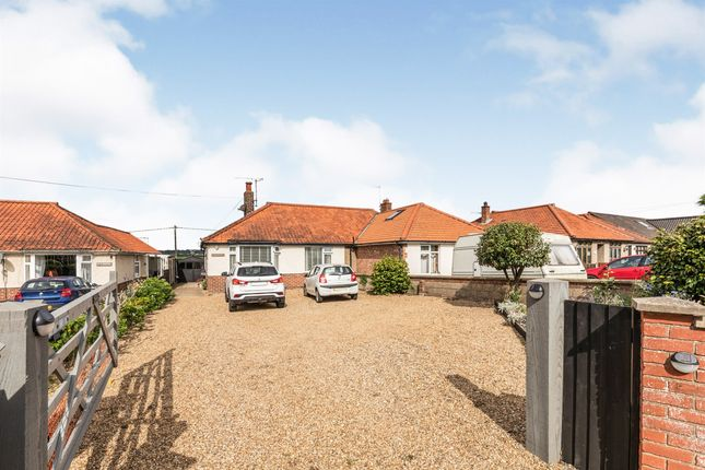 Thumbnail Semi-detached bungalow for sale in Norwich Road, Cromer
