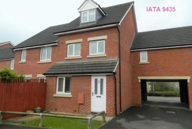 Thumbnail Flat to rent in Cavalier Close, Bridgwater