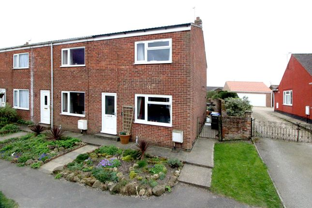 Thumbnail End terrace house for sale in Main Street, Cranswick, Driffield