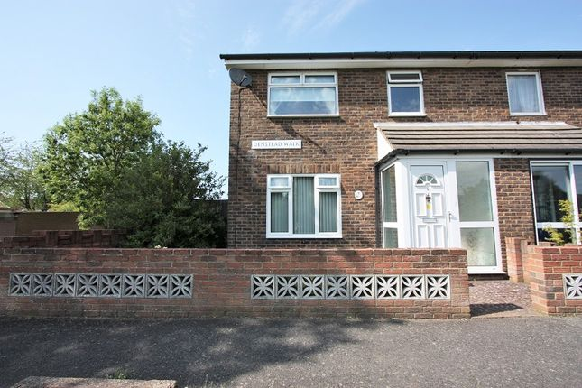 3 bed end terrace house for sale in Denstead Walk, Maidstone, Kent.