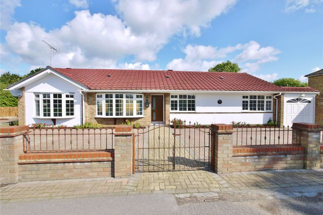 Thumbnail Bungalow for sale in Stocks Lane, Kelvedon Hatch, Brentwood, Essex