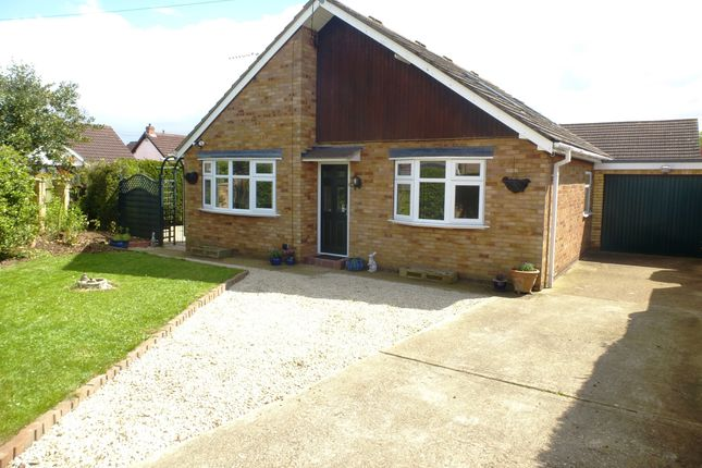 Thumbnail Detached bungalow for sale in Hawthorn Avenue, Cherry Willingham, Lincoln