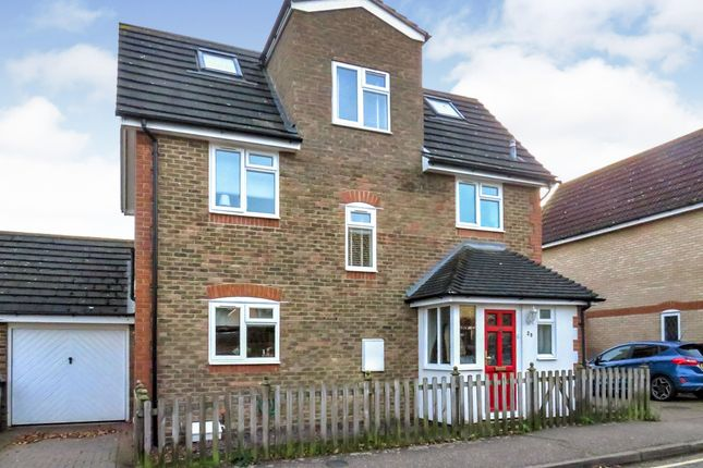 Thumbnail Detached house for sale in Nash Drive, Broomfield, Chelmsford