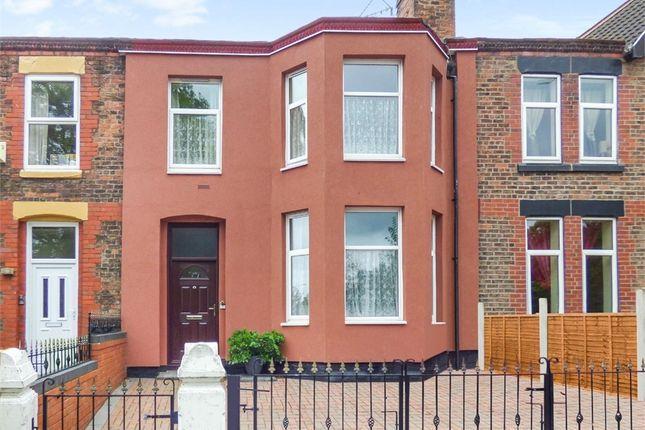 Thumbnail Terraced house for sale in Park Road East, Birkenhead, Merseyside