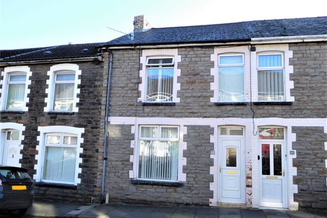 Thumbnail Terraced house for sale in Heolddu Road, Bargoed, Caerphilly