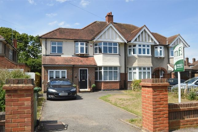 4 bed semi-detached house for sale in Sandy Way, Walton-On-Thames, Surrey KT12