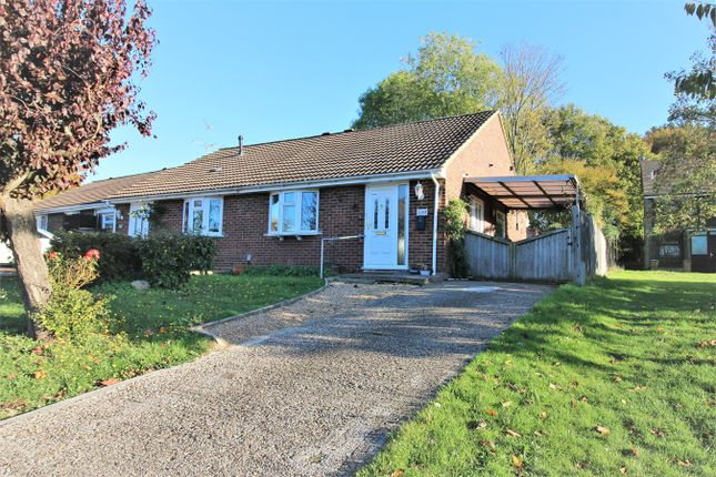 Thumbnail Semi-detached bungalow for sale in Holbein Close, Black Dam, Basingstoke