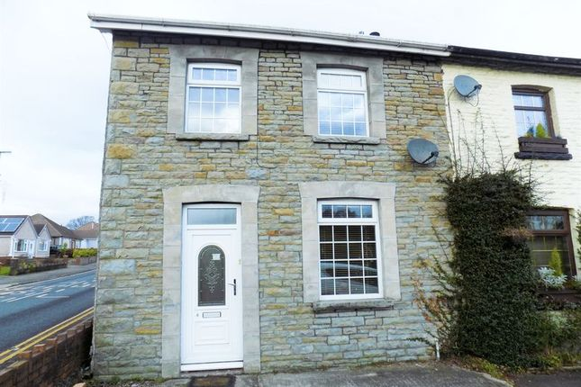 Thumbnail Semi-detached house for sale in St. Cenydd Road, Caerphilly
