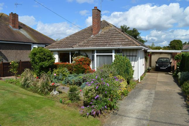 Thumbnail Detached bungalow for sale in Rectory Road, Ruskington, Sleaford