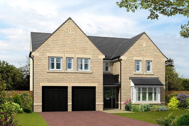"Thumbnail Detached house for sale in ""The Dunstanburgh"" at Sykes Lane, Silsden, Keighley"