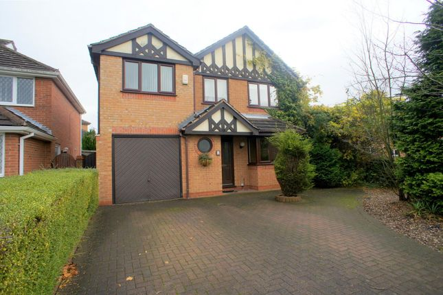 Thumbnail Detached house to rent in Talgarth Close, Oakwood, Derby
