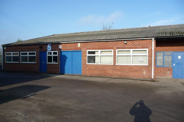 Thumbnail Business park to let in Derby Road Industrial Estate, Heanor, Derbyshire